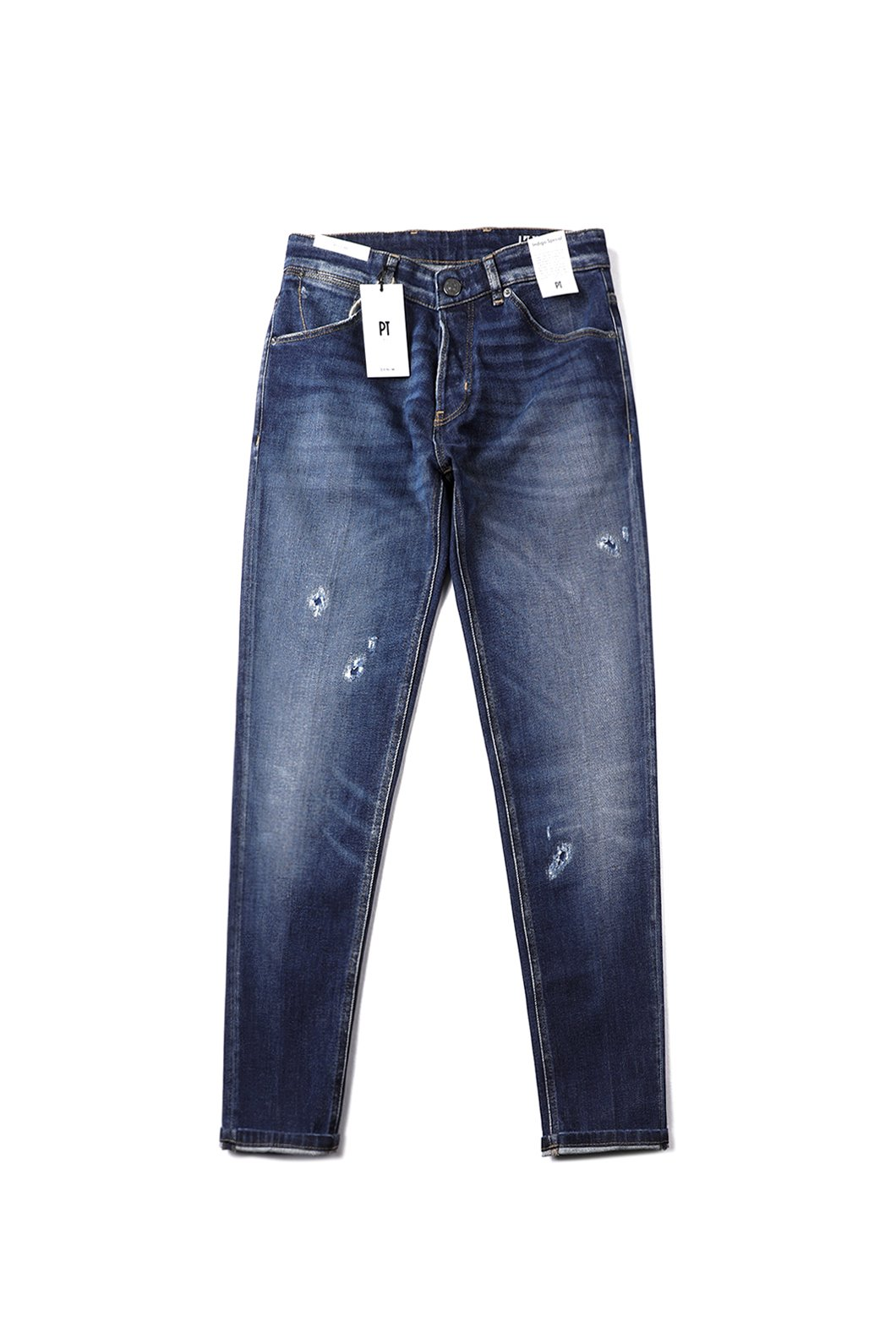 PT-TORINO Reggae Indigo Special Sustainable Roll UP Blue Jeans