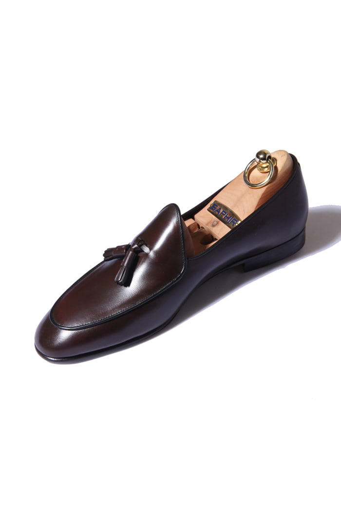Take373 artisan tassel loafer/brown[italy calf-bologna.ver]