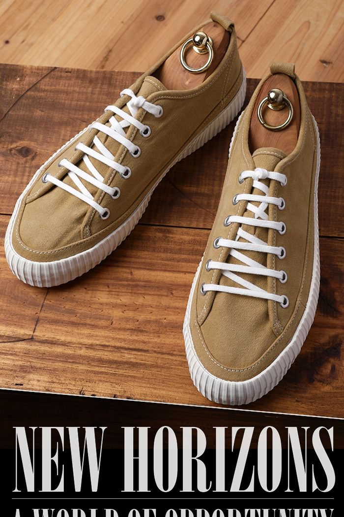 BASIC COLORIZE CANVAS SNEAKERS-MUSTARD