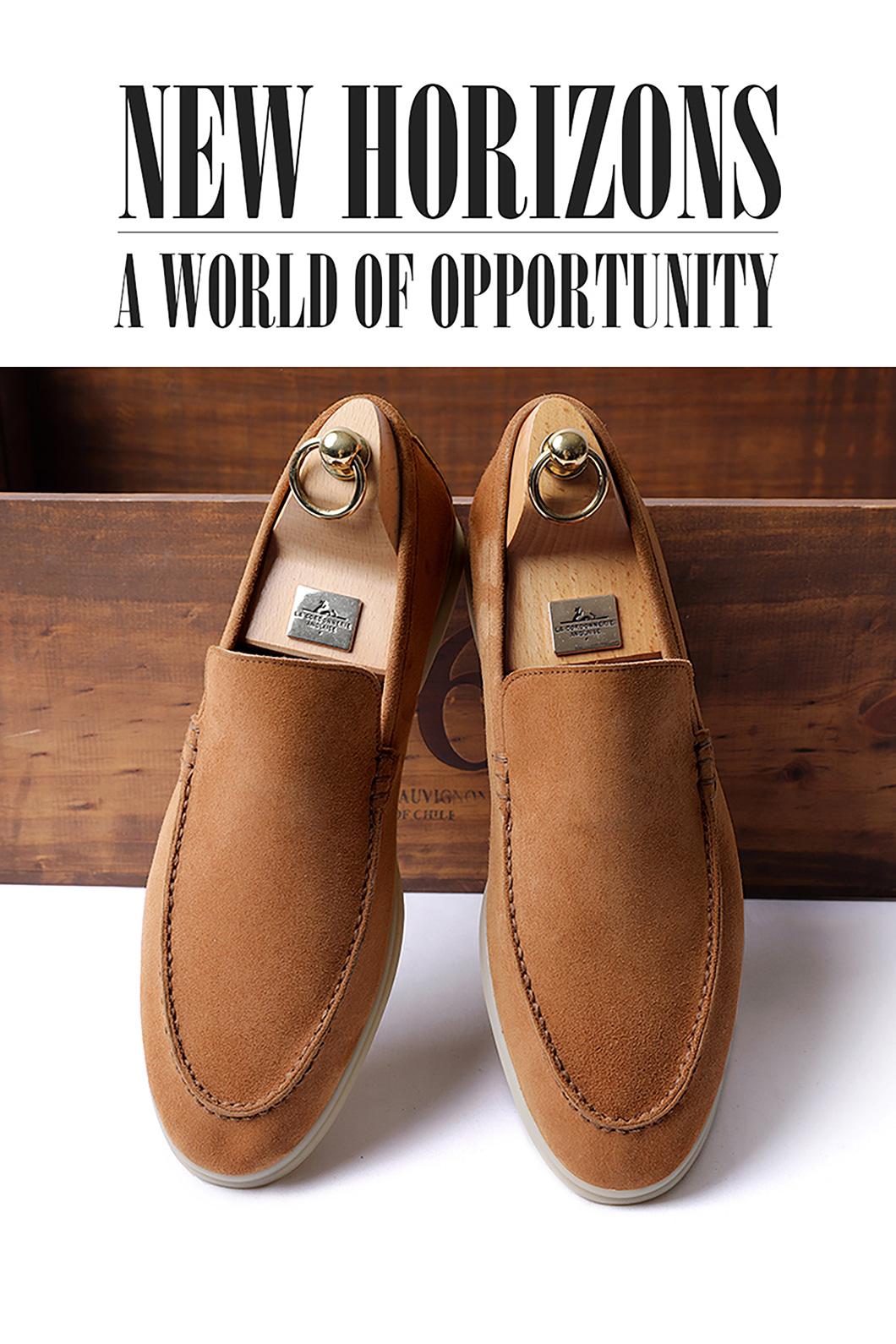 LOWER SUEDE LOAFER-CAMELITALY Leather