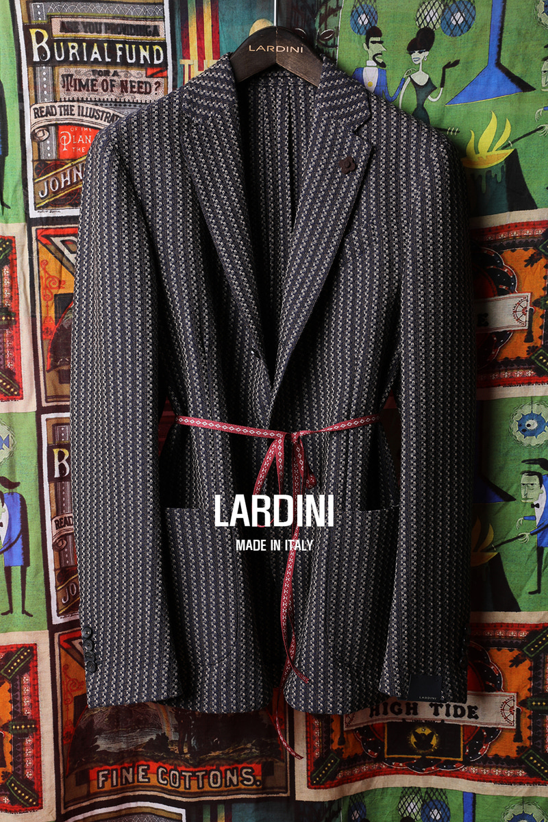 LARDINI E.M STRIPE JACKET