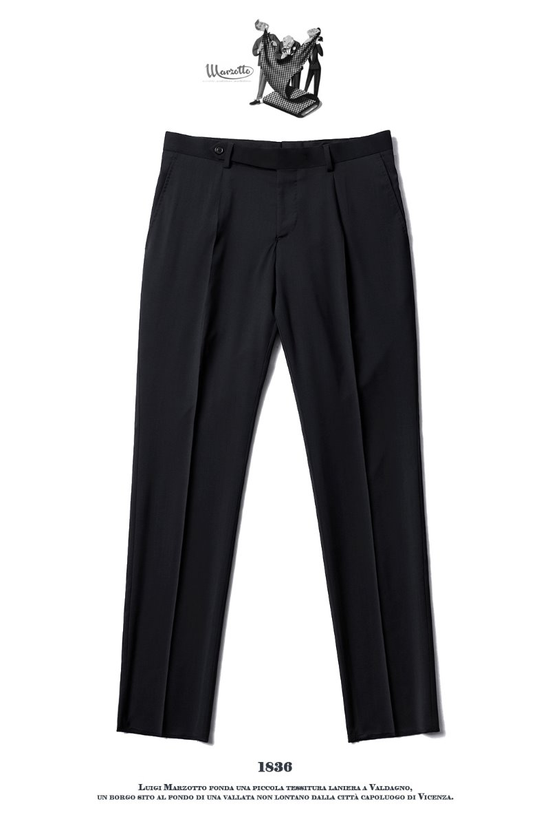 492 ITALY MARZOTTO VOLUME SLACKS PANTS-BLACK봄, 가을시즌 추천 슬렉스!!
