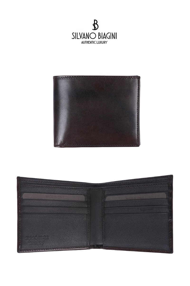 SILVANO BIAGINI BROWN WALLET