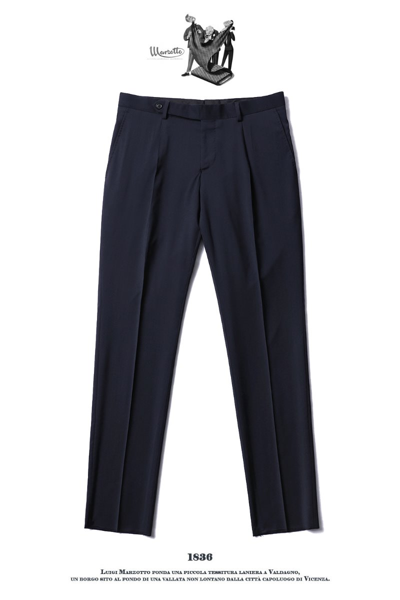 493 ITALY MARZOTTO VOLUME SLACKS PANTS-NAVY봄시즌 추천 슬렉스!!
