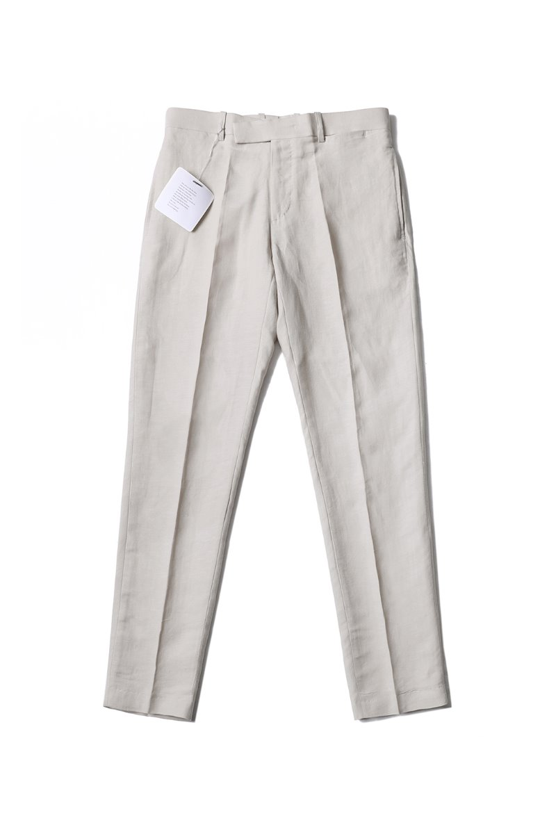 HOLLAND LINEN SLACKS PANTS-2COLOR
