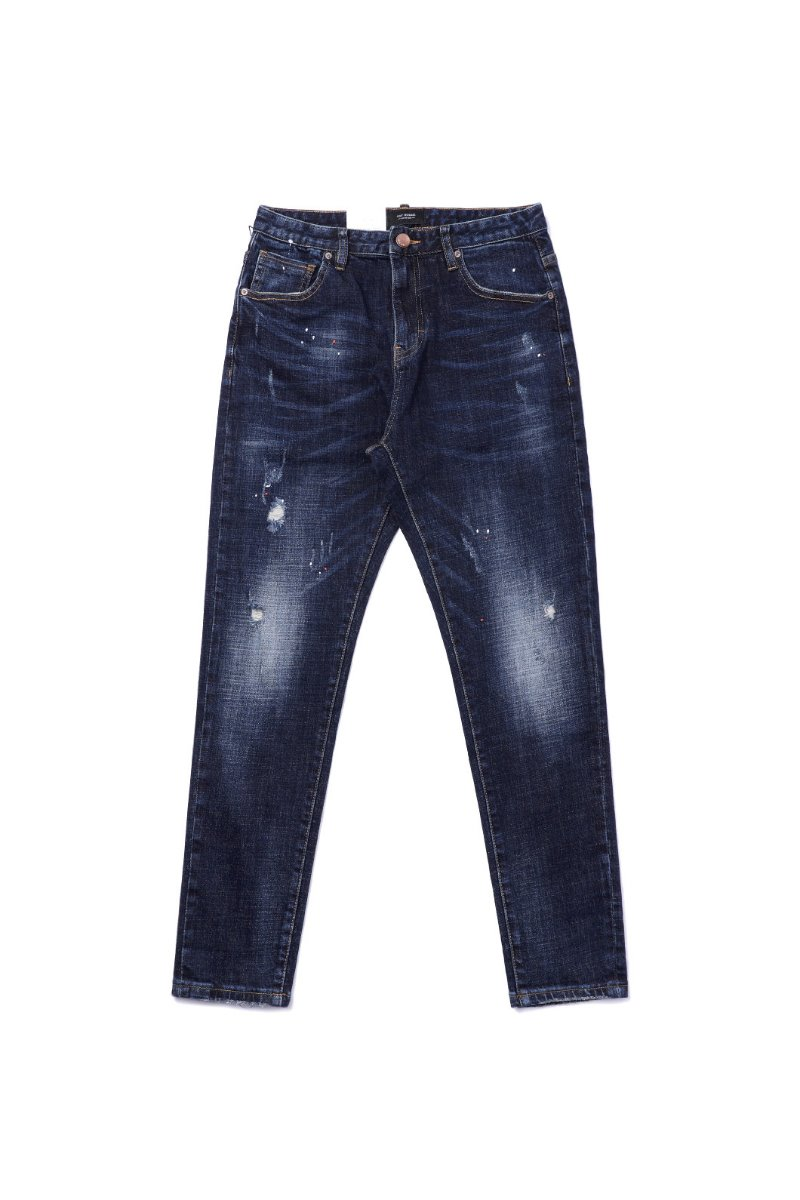 OGT1998 WASHED SLIM JEANS-BLUE수입한정모델