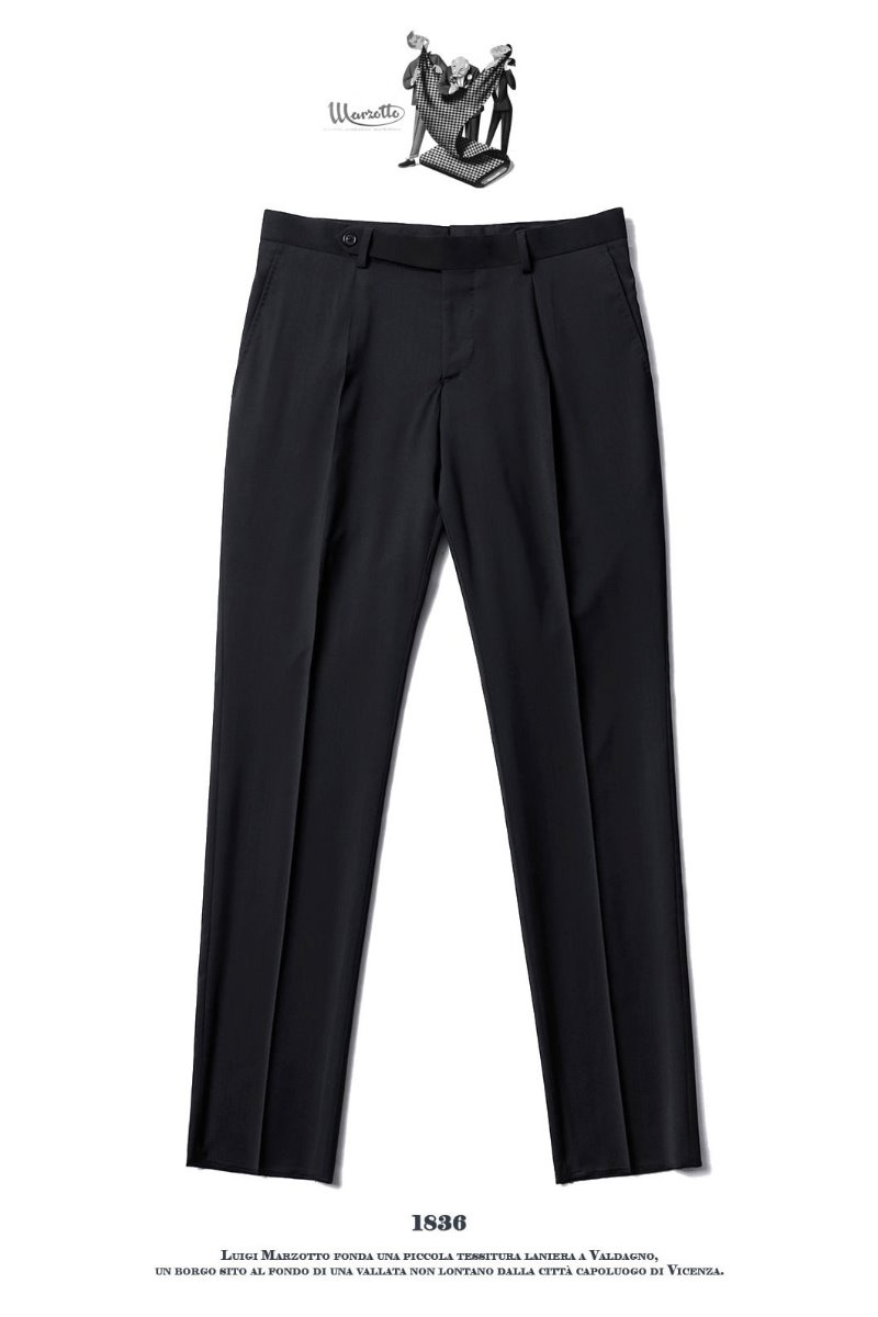 492 ITALY MARZOTTO VOLUME SLACKS PANTS-BLACK봄시즌 추천 슬렉스!!