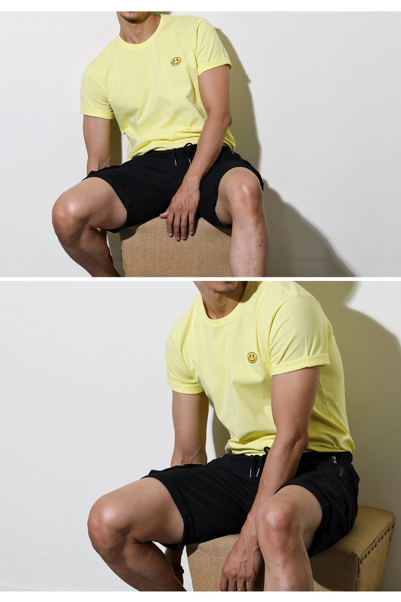 Gralin Round T-Shirt-Yellow수입한정제품