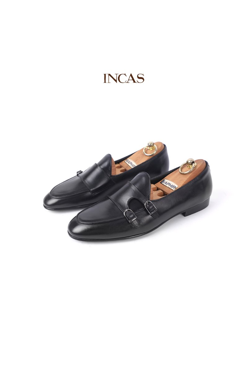 530 Artisan ITALY INCAS Shoes-Black