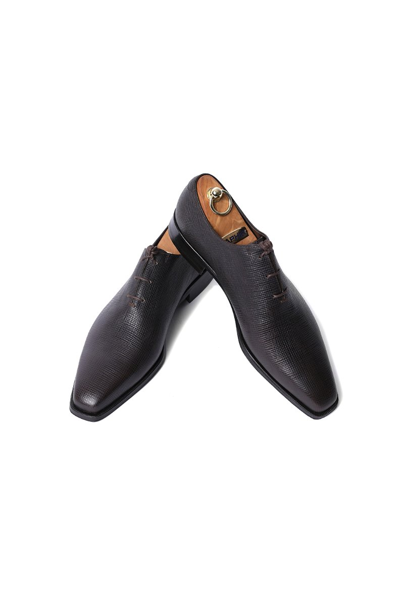 458 Artisan Conceria Brasil Shoes-Dark Brown