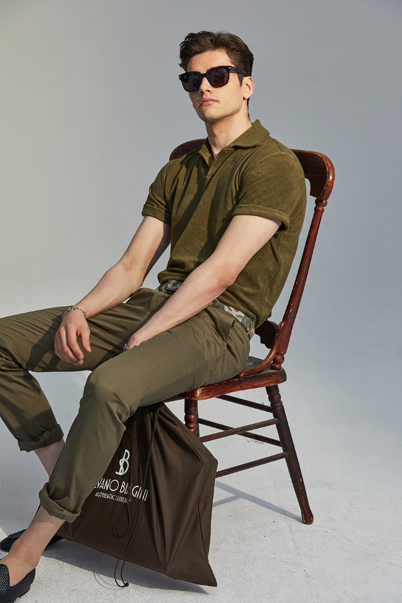 GTA STRETCH CHINO PANTS-LIGHT KHAKI