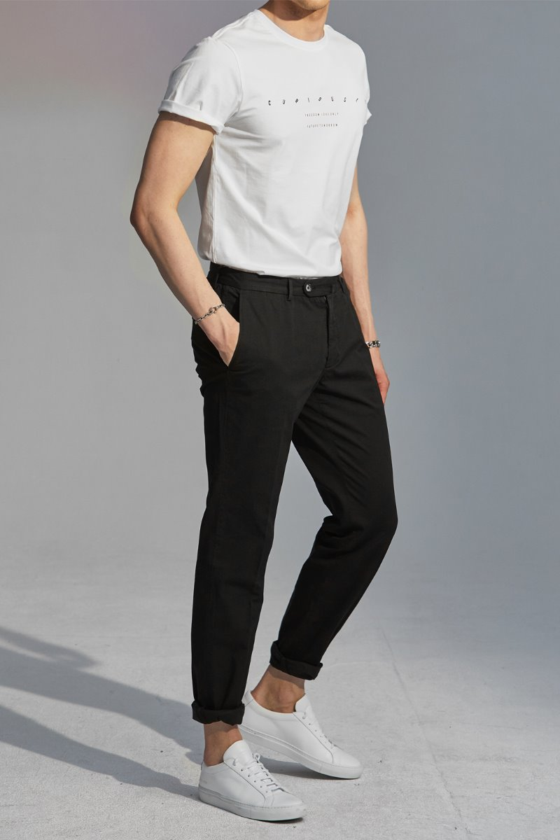 GTA STRETCH CHINO PANTS-BLACK