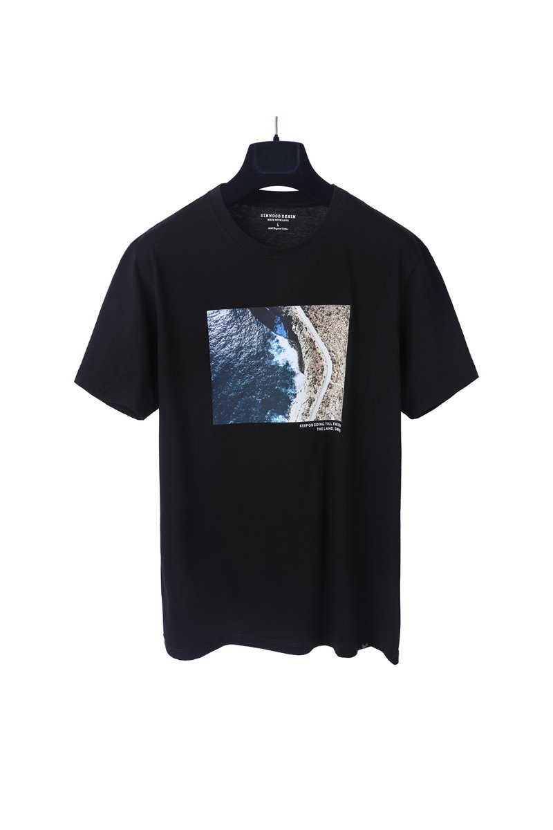 END OF THE LAND T-SHIRTS-BLACK