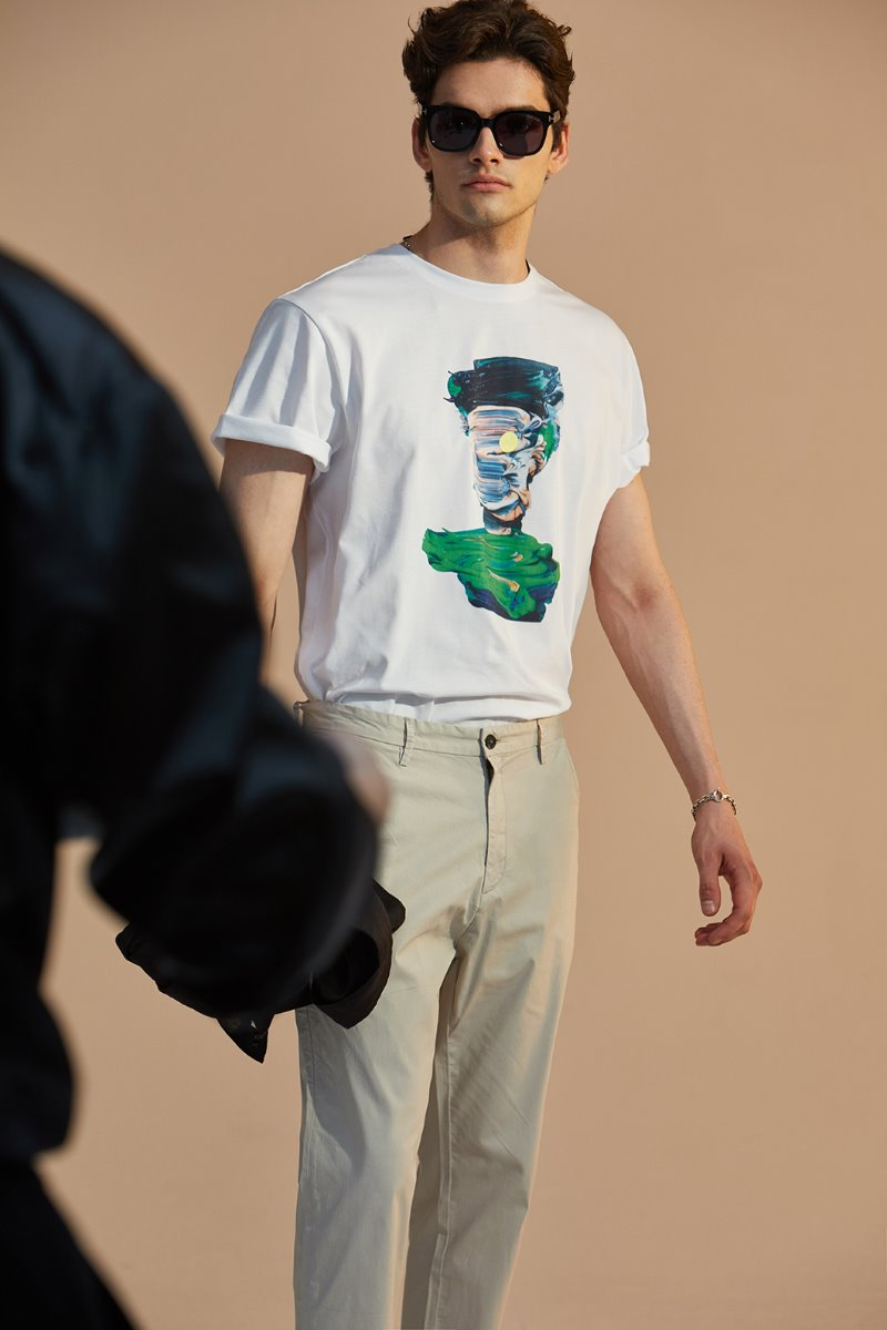 5067ART T-SHIRTS-WHITE소량 한정판
