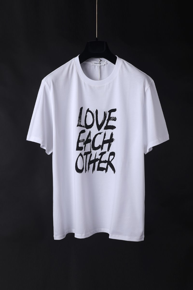 LOVE EACH OTHER T-SHIRTS-WHITE