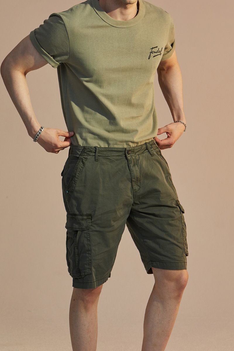 J.F CARGO HALF PANTS-2COLOR