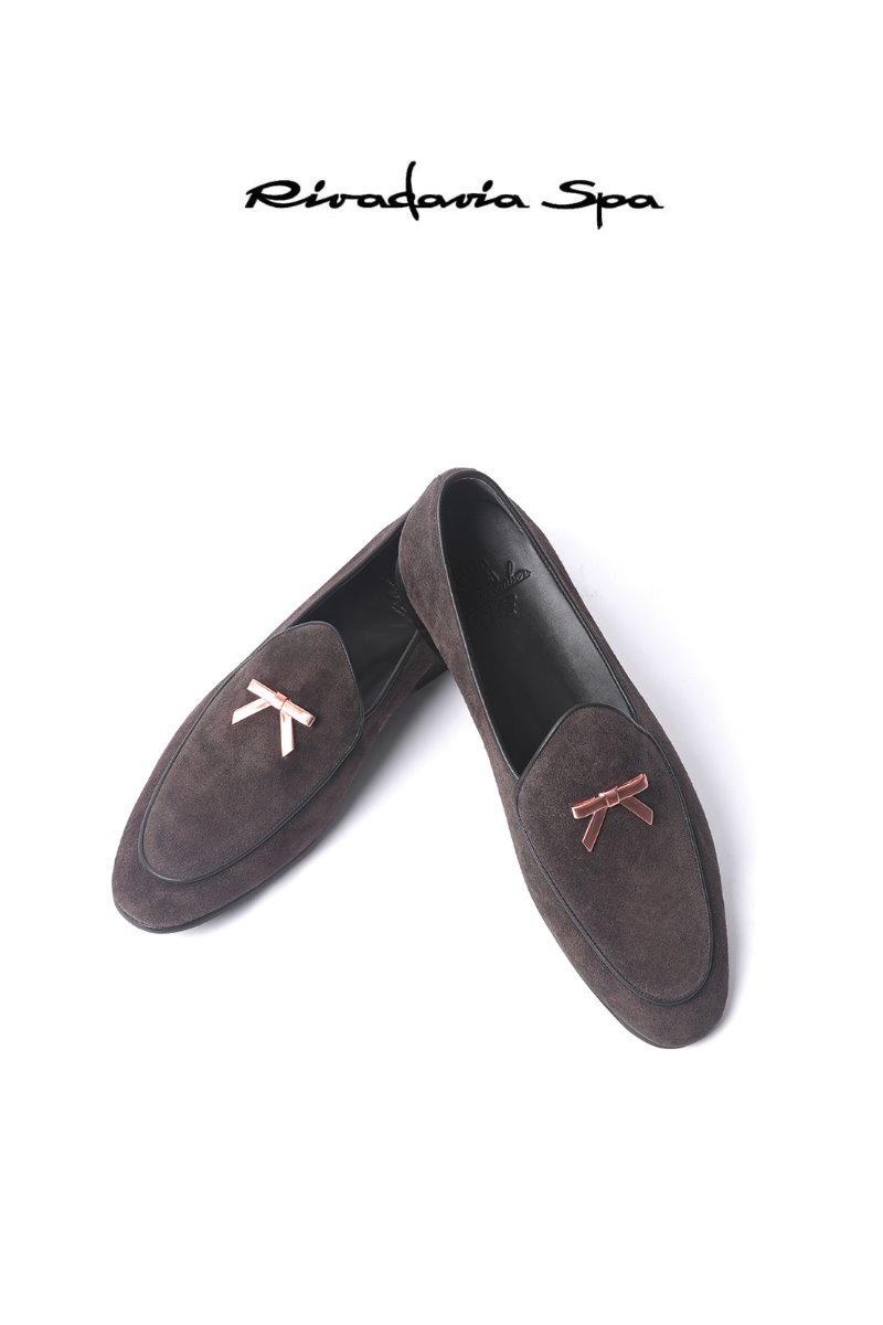 540  ITALY RIVADAVIA LOAFER-BROWN