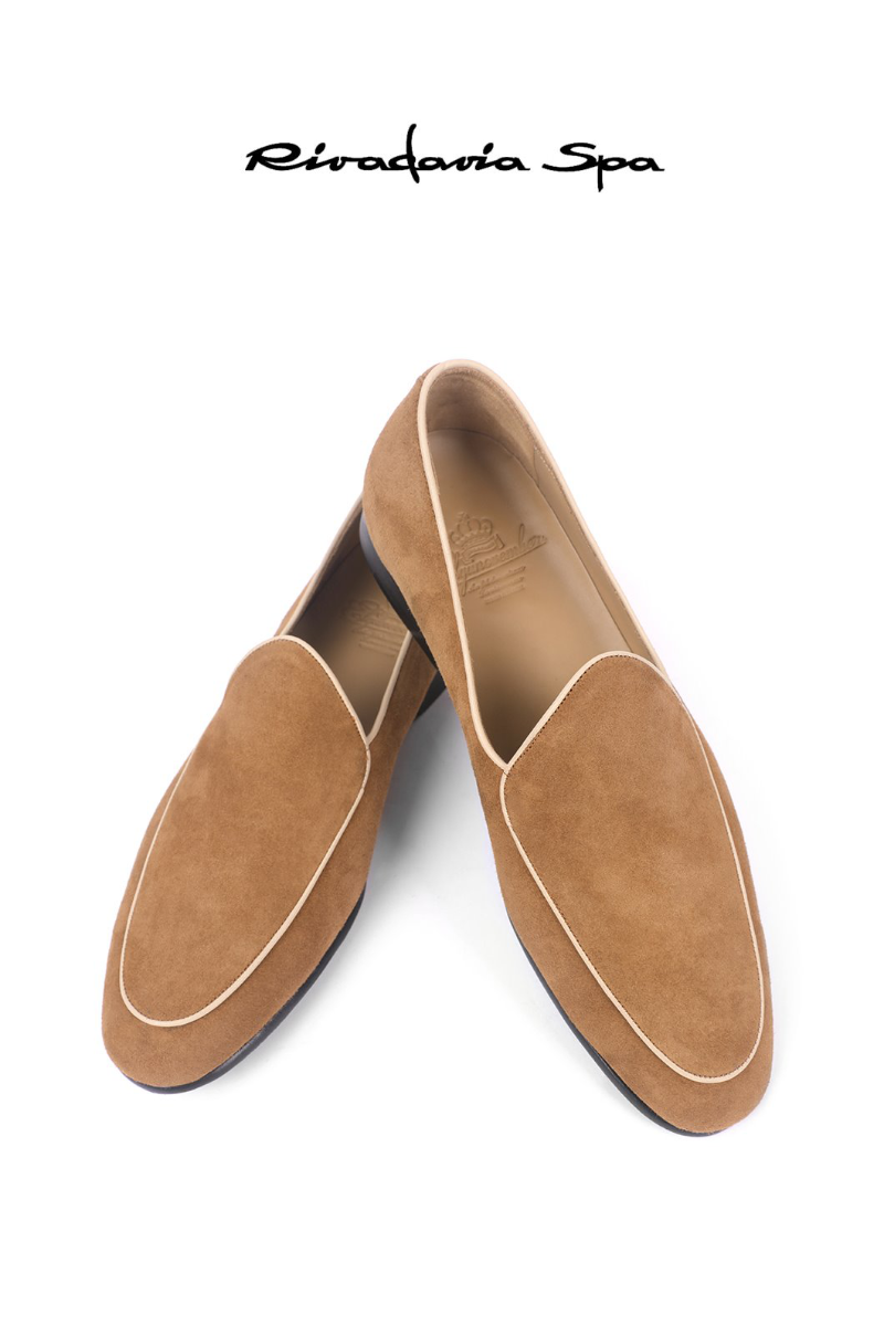 543  ITALY RIVADAVIA LOAFER-LIGHT BEIGE