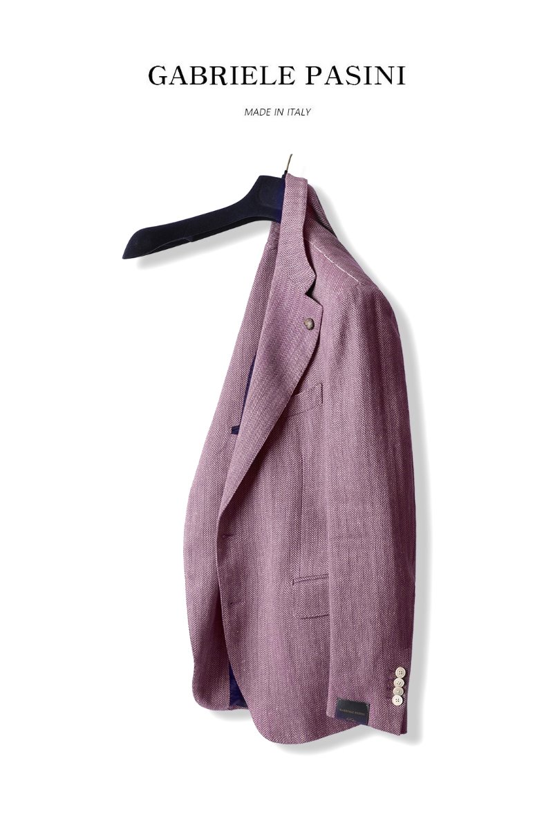 PASINI Pekey Single Jacket-Pink